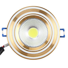 Giá bán 3W 2700-3200K Warm White COB LED Ceiling Light with Transparent Glass (Intl)