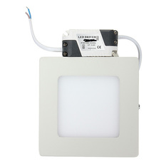 Giá bán 9W 15W 21W Dimmable LED Surface Square Panel Wall Ceiling Down Lights Bulb Lamp Natural White (Intl)