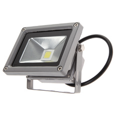 Giá bán White Power LED Flood Wash Light Projection Lamp 10W Aluminum 800LM (Intl)
