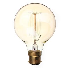 Giá bán 220V 60W Vintage Antique Edison Style Carbon Filamnet Clear Glass Bulb (Intl)
