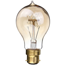 Giá bán 2PCS 220V 40W A19-B22 Vintage Antique Edison Style Carbon Filamnet Clear Glass Bulb (Intl)