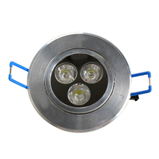 Giá bán 3 LEDs Warm White Ceiling Recessed Down Light (Intl)