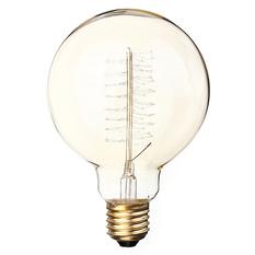 Giá bán 40W E27 G95 Edison Vintage Filamnet Glühbirne Globe Lampe Nostalgie Retro 110V (Intl)