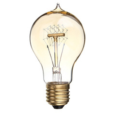 Giá bán 5PCS E27 60W A19 Edison Vintage Filamnet Glühbirne Lampe Birne Nostalgie Retro 220V (Intl)