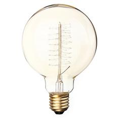 Giá bán 60W E27 G95 Edison Vintage Filamnet Glühbirne Globe Lampe Nostalgie Retro 220V (Intl)