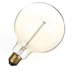 Giá bán 6PCS E27 G125 220V 60W Vintage Antique Incandescent Glass Light Home Decoration Lamp Bulb (Intl)