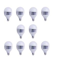 Giá bán Bộ 10 bóng đèn LED búp 12W (Trắng)