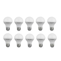 Giá bán Bộ 10 bóng đèn Led búp 5W (Vàng)