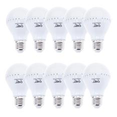 Giá bán Bộ 10 bóng đèn LED búp 7W (Trắng)