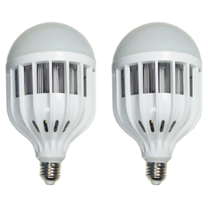 Giá bán Bộ 2 bóng Đèn Led Bulb 36W (Ánh Sáng Trắng)