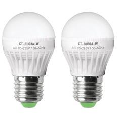 Giá bán Bộ 2 bóng đèn led bulb 3W Legi CT-BU03A-W (Trắng)