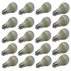 Giá bán Bộ 20 bóng đèn led búp nhựa 5w