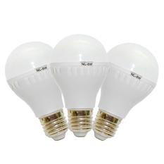 Giá bán Bộ 3 bóng đèn tiết kiệm điện siêu sáng Verygood 5W (Trắng)