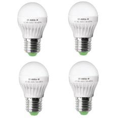 Giá bán Bộ 4 bóng đèn led bulb 3W Legi CT-BU03A-W (Trắng)