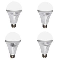 Giá bán Bộ 4 bóng đèn LED Bulb tích điện thông minh Smartcharge 9W kèm điện trở