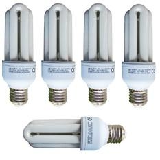 Giá bán Bộ 5 Bóng đèn Compact Unilife 3U-15W E27 DL (Trắng)