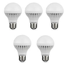 Giá bán Bộ 5 bóng đèn LED búp Tomhouse 9W (Ánh sáng trắng)