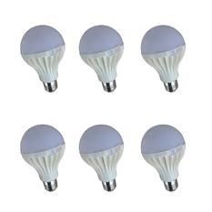 Giá bán Bộ 6 bóng đèn LED Tuấn Đạt E27 9w (Ánh sáng trắng)
