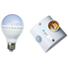 Giá bán Bộ đuôi đèn cảm biến chuyển động và bóng led bub 7W ánh sáng trắng TR02-PR (Trắng)