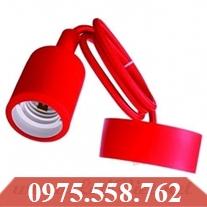 Dây Thả Đèn Nhựa Màu Đỏ