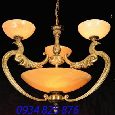 Đèn Chùm Đồng Đá HF1025-3
