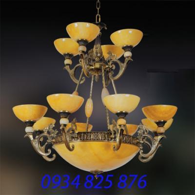 Đèn Chùm Đồng Đá HF1132-12