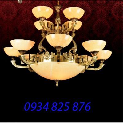 Đèn Chùm Đồng Đá HF1167-12