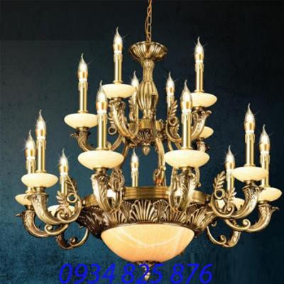 Đèn Chùm Đồng Đá HF1208-15