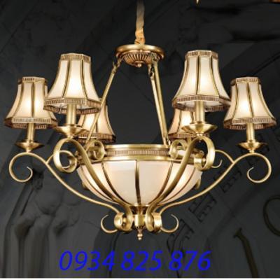 Đèn Chùm Đồng Đá HF834-6