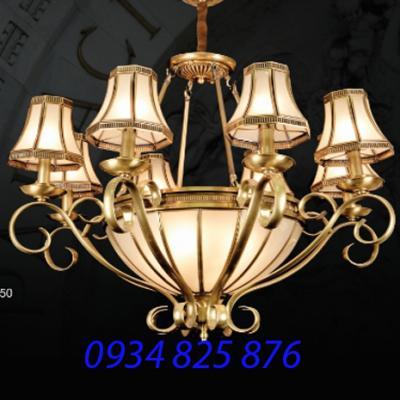 Đèn Chùm Đồng Đá HF834-8
