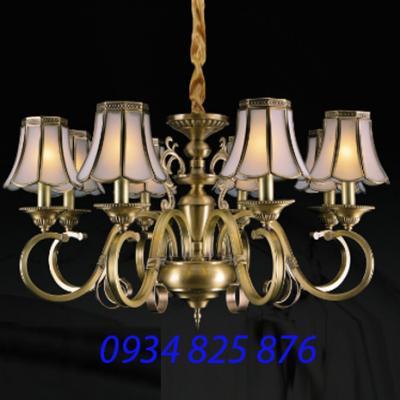 Đèn Chùm Đồng Đá HF9003-8