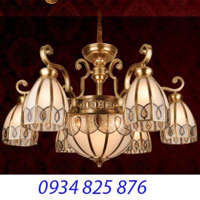 Đèn Chùm Đồng Đá HF9008-6
