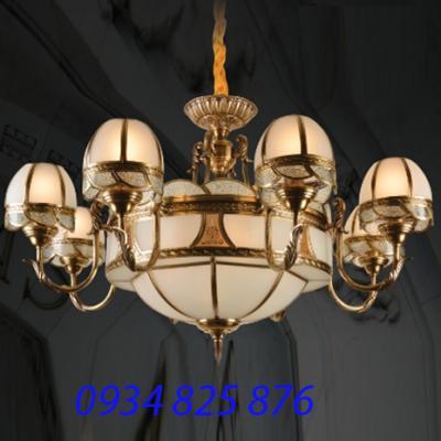 Đèn Chùm Đồng Đá HF9021-8