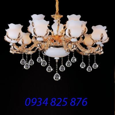 Đèn Chùm Hợp Kim Pha Lê-HL8878-15