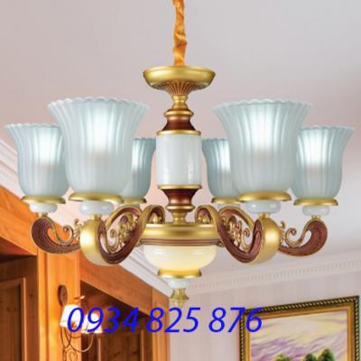 Đèn Chùm Hợp Kim Sang Trọng-HL369-6