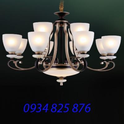 Đèn Chùm Hợp Kim Sang Trọng-HL6158-12