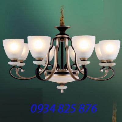 Đèn Chùm Hợp Kim Sang Trọng-HL6158-8