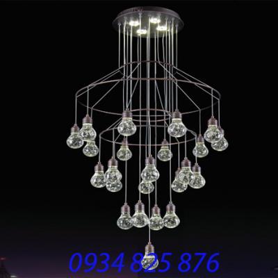 Đèn Chùm Pha Lê Thông Tầng-HF3356-23