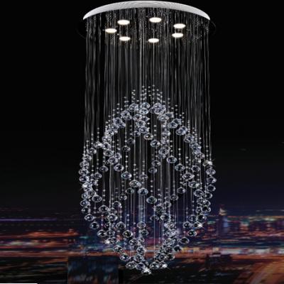 Đèn Chùm Pha Lê Thông Tầng-HF7007