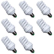 Giá bán Đèn Compact tiết kiệm điện 26W Gnesco bộ 8 cái (Sáng trắng)