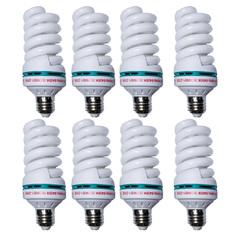 Giá bán Đèn compact tiết kiệm điện 40W Gnesco bộ 8 cái (Sáng trắng)