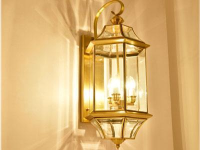 Đèn Đồng Gắn Vách HF6008L