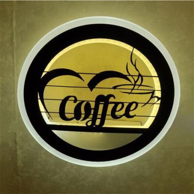 Đèn Gắn Tường Hiện Đại Chữ Coffee-LT309