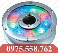 Đèn LED Âm Nước 9W Đổi Màu