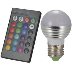 Giá bán Đèn led nhiều màu có remote Rinos RN3WRGB