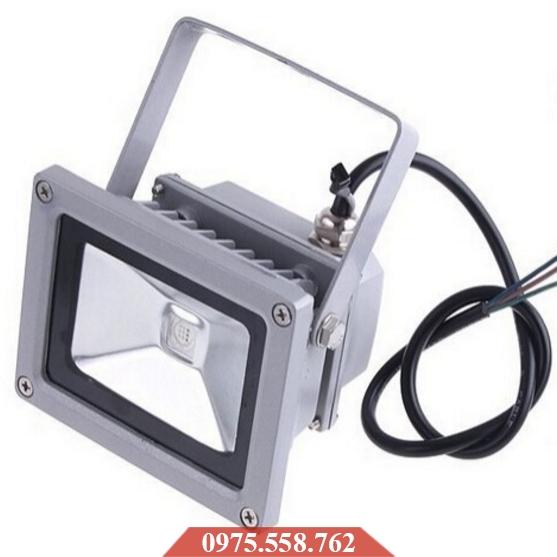 Đèn LED Pha Đổi Màu 10W