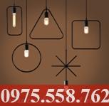 Đèn Sắt Nghệ Thuật THCN 116