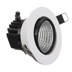Giá bán Dimmable 6W 9W 12W 15W COB LED Downlight Kit Fixture Recessed Ceiling Light Bulb Warm White (Intl)