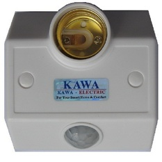 Giá bán Đui đèn cảm ứng Kawa SS68B (Trắng)