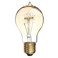 Giá bán E27 A19 40W Edison Vintage Filamnet Glühbirne Lampe Licht Nostalgie Retro 110V (Intl)
